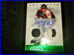 12/13 Artifacts Wayne Gretzky Base Dual Jersey Patch Auto Signature /8 RARE