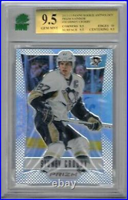 12-13 Panini Prizm Silver Sidney Crosby MNT 9.5 #38 FIRST YEAR SILVER