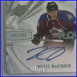 13-14 SPX Nathan MacKinnon /249 Auto Jersey Rookie RC Avalanche 2013
