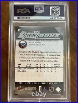 15-16 UD Series 2 Hockey Young Guns 451 PSA 10