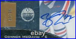 15-16 Ultimate Collection Connor McDavid 1/1 Jersey # RC 97/99 2015-16 GGS 8.5