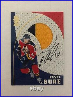 1998-99 Be A Player Pavel Bure Game Jersey Autograph #G10 (First Bure AUJ ever!)