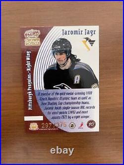 1998-99 Pacific Crown Royale Jaromir Jagr Living Legends /375 VERY RARE