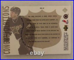 1999-00 Upper Deck Game Jersey Patch Gold Mike Modano 1/1