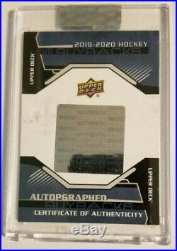 19-20 UD Buybacks 15-16 Shining Stars Auto Wayne Gretzky 6/10