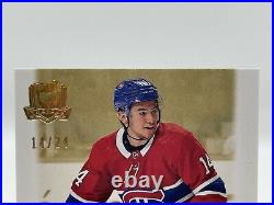 19-20 UD The Cup NICK SUZUKI Gold Rookie Auto 14/24 JERSEY NUMBER 1/1