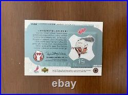 2001-02 Upper Deck SPX Steve Yzerman Jersey Patch Hockey Stick #SY20 VERY RARE