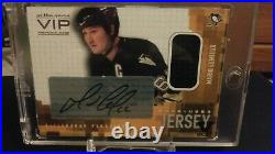 2003/04 Mario Lemieux In The Game VIP Game Used Auto Jersey Vault