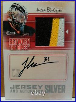 2003-04 Ud Spx Rookie Stars Patrice Bergeron Auto Jersey 709/925 Rc #220 Bruins