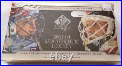 2003-04 Upper Deck SP Authentic Hockey HOBBY Box 2 Auto, Rookie Jersey Patch