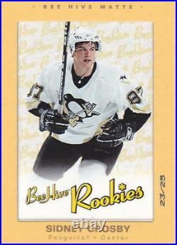 2005 05-06 RARE BEEHIVE SP SIDNEY CROSBY HIVE MATTE /25 No Auto jersey rookie
