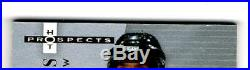 2005-06 FLEER HOT PROSPECTS Alexander Ovechkin RC Rookie Auto Jersey #/199 3 CLR