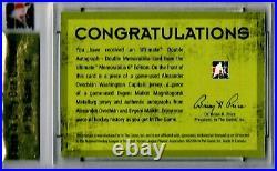 2005-06 ITG Ultimate Memorabilia Alex Ovechkin Evgeni Malkin RC Auto Jersey 2/34