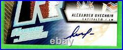 2005-06 SPX ROOKIE JERSEY #190 Alexander Ovechkin RC Auto Jersey #133/499 BEAUTY