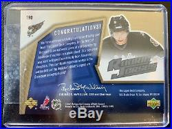 2005-06 SPX ROOKIE JERSEY #190 Alexander Ovechkin RC Auto Jersey #334/499