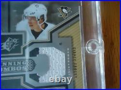 2005/06 Spx Hockey Wayne Gretzky & Sidney Crosby Winning Combos Dual Jerseys 120