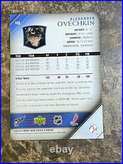 2005-06 UD Young Guns #443 Alexander Ovechkin RC (A) NICE