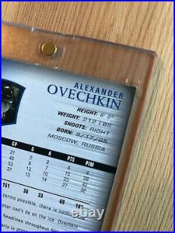 2005-06 Upper Deck ALEXANDER OVECHKIN Young Guns Rookie RC damaged edge READ