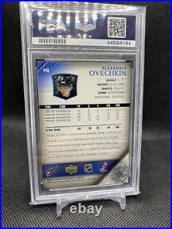 2005-06 Upper Deck Young Guns Rookie #443 Alexander Ovechkin Capitals PSA 9 Mint