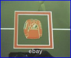 2006 McDonald's Team Canada Hockey Mini-Jerseys in Store Display Frame