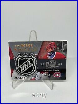 2007-08 UPPER DECK THE CUP 1 Of 1 ROOKIE PATCH AUTO SHIELD CAREY PRICE HALAK 1/1