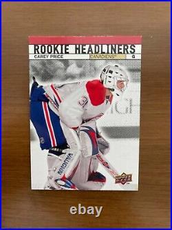 2007-08 Upper Deck Carey Price Rookie Headliners #RH3 VERY RARE