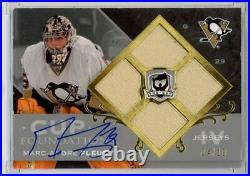 2007/08 Upper Deck THE CUP MARC-ANDRE FLEURY AUTO JERSEY QUAD #4/10 SIGNED NHL