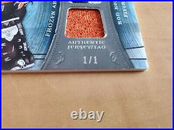 2009-10 UD Artifacts RON HEXTALL Frozen artifacts jersey / patch Black 1/1