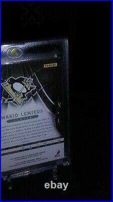 2012/13 Panini Mario Lemieux Silhouette Signatures Auto/jersey # 31