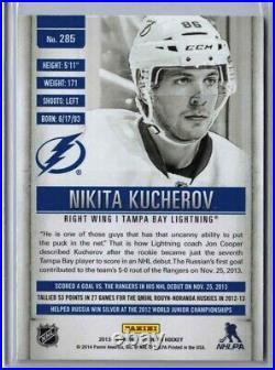 2013-14 Titanium Hockey #285 Nikita Kucherov /86 True Rookie Jersey Number