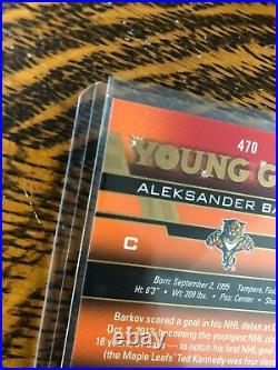 2013-14 Upper Deck ALEKSANDER BARKOV Young Guns UD Exclusives SP 43/100 Mint