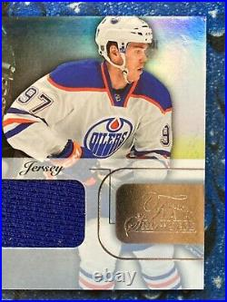 2015-16 Fleer Showcase Flair Materials Rookie Jersey RC Connor McDavid #36