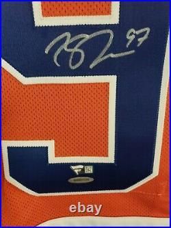 2015 16 Reebok Rookie Jersey Connor McDavid Autographed Upper Deck Fanatics COA