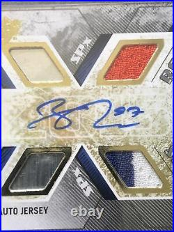 2015-16 Spx CONNOR McDAVID Rookie RC Auto Dual Jersey Autograph /399