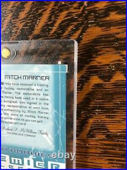 2016-17 Premier Collection MITCH MARNER Auto Leaf Patch Super Rookie RC 33/99