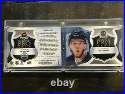 2017-18 Upper Deck The Cup Connor McDavid auto jersey patch Pro Gear autographed
