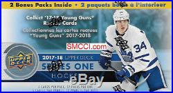 2017 2018 Upper Deck Series 1 Hockey 20 BOX BLASTER CASE possible Rookies Jersey