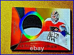 2018-19 CARTER HART Ultimate Rookies /49 Rookie Patch Autograph RRPA-CH Auto