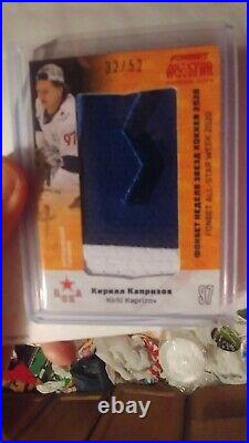 2020 SeReal KHL KIRILL KAPRIZOV 32/52. Used Jersey CSKA Wild Thrill 2 color