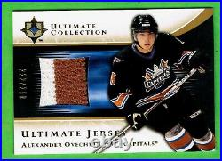 (3) 2005-06 UD ULTIMATE JERSEY Alexander Ovechkin Rookie RC LOT of 3 Ser#/250