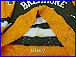 AHL Baltimore Skipjacks Ice Hockey Jersey c. 1984-1988 withFight Strap #42