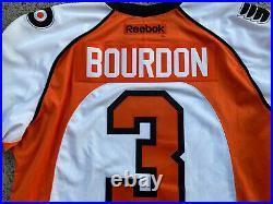 Adirondack Phantoms 2012-13 Authentic Game Hockey Jersey Marc Andre Bourdon 56