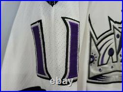 Autographed Reebok Los Angeles Kings Anze Kopitar 11 On Ice Game Jersey 56 3XL