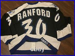 Bill Ranford Game Used Lightning Jersey