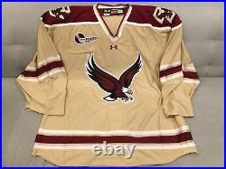 Boston College BC Eagles Team Issued NCAA Pro Stock Hockey GOALIE Jersey 56G