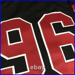 CCM Center Ice Authentic Ottawa Senators NHL Hockey Jersey Vintage Black Away 52