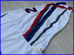IIHF Frankreich Eishockey Trikot France Ice Hockey Jersey Nike Game Worn #29