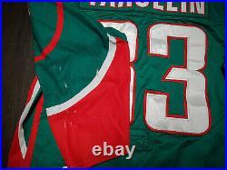 KHL AK Bars (Kazan) Pro Stock Hockey Game used Jersey