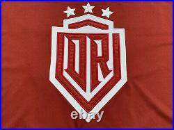 KHL Dynamo Riga Dinamo Latvia Goalie Cut Game Worn Ice Hockey Jersey Shirt #73