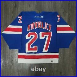 Koho Alexei Kovalev New York Rangers On-Ice Authentic NHL Hockey Jersey, Size 48